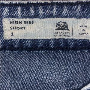 Bullhead Shorts - Bullhead ripped shorts